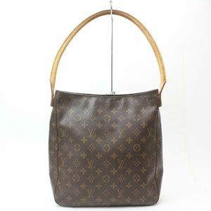 Auth Louis Vuitton Looping Gm Bag #901L26